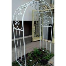 Арка садовая/свадебная из металла, ковка №025 Цельносварная. Производство: Украина