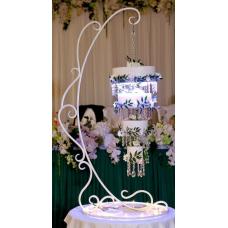 Свадебный декор: Декоративные подставки для торта, ковка №033