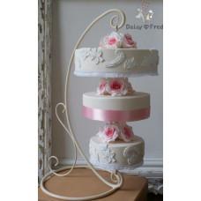 Свадебный декор: Декоративные подставки для торта, ковка №037