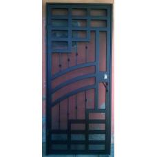 Дверь из металла / Калитка кованая №034. Производство: Украина