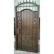 Дверь из металла / Калитка кованая аркой №064. Производство: Украина