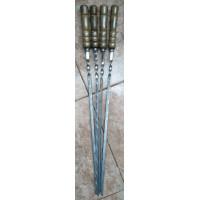 Шампура пищевая нержавеющая сталь 3 мм с деревянными ручками №037. Производство: Украина, Одесса
