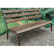 Лавочка садовая сварная №003, сидение - 1,75 м. Производство: Украина, Одесса