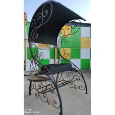 Мангал 6 мм в комплексе: кованый навес, художественная ковка №052. Производство: Украина, Одесса