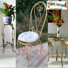 Кованые стулья, художественная ковка № 062. Производство: Украина