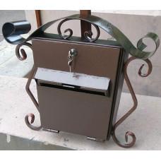 Почтовый ящик из металла, ковка №019. Производство: Украина, Одесса