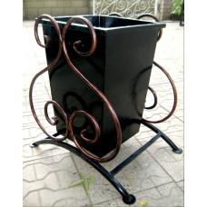 Урна металлическая, ковка 40 литров №001