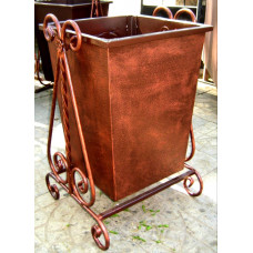 Урна металлическая, ковка 60 литров №003. Производство: Украина, Одесса