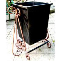 Урна металлическая, ковка 60 литров №006