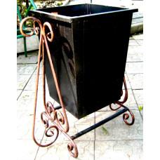 Урна металлическая, ковка 60 литров №006. Производство: Украина, Одесса